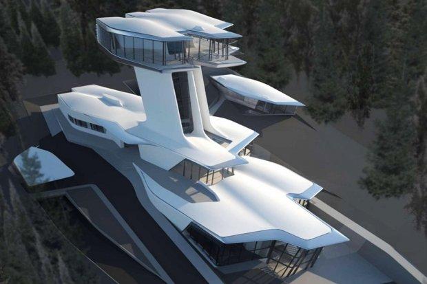 10 работ Захи Хадид, первой женщины-архитектора