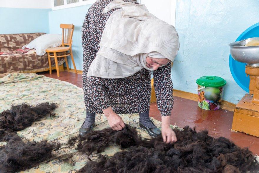 Как делают бурки в Дагестане