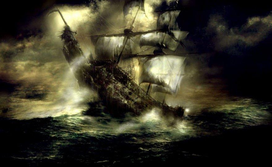 Подборка кораблей-призраков, до сих пор бороздящие океаны