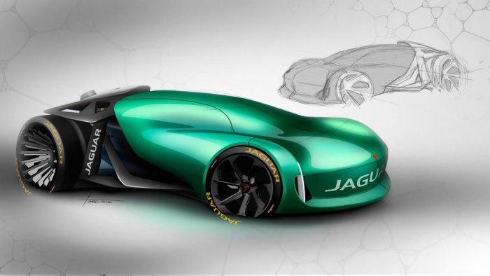 Автомобиль будущего Jaguar Naked