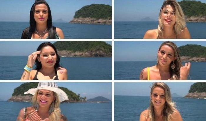 Реалити-шоу в Бразилии с одним парнем, одной девушкой и девятью трансгендерами