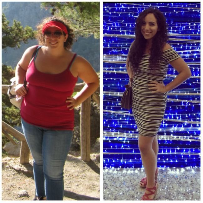Фотографии людей «до» и «после», которым удалось похудеть (27 фото)