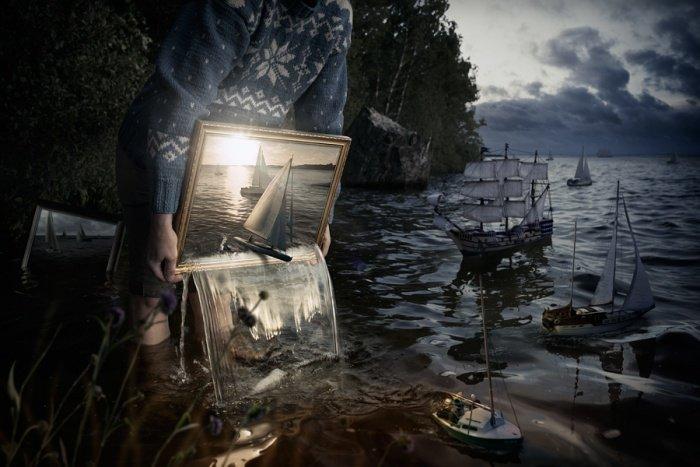 Иррациональный мир в фотоманипуляциях