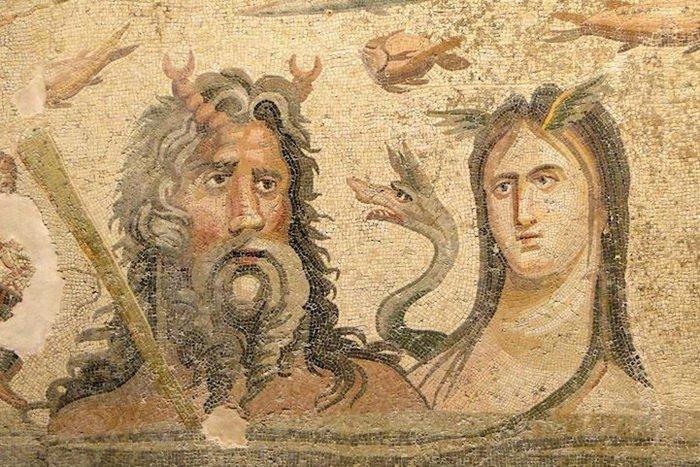 Древние греческие мозаики в турецком городе Зевгма