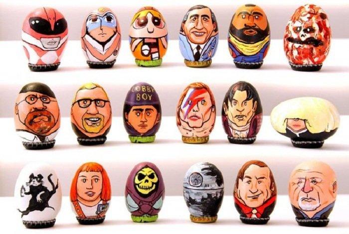 Коллекция пасхальных яиц от Барака Хардли
