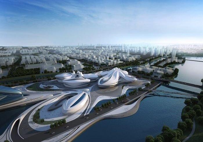 Проект фантастического культурного центра в Китае