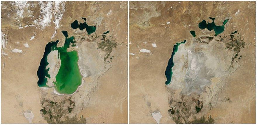 Как меняется наша планета на снимках НАСА