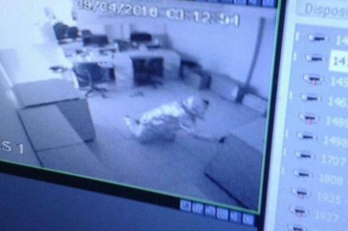 Грабители обошли систему безопасности банка, обернувшись в фольгу (3 фото)