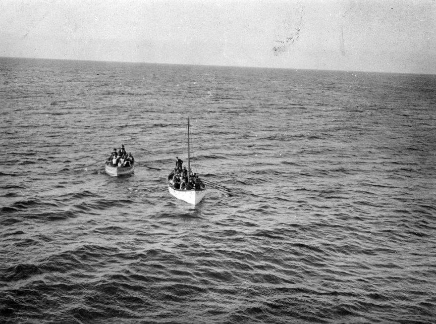 14 апреля произошло столкновение «Титаника» с айсбергом