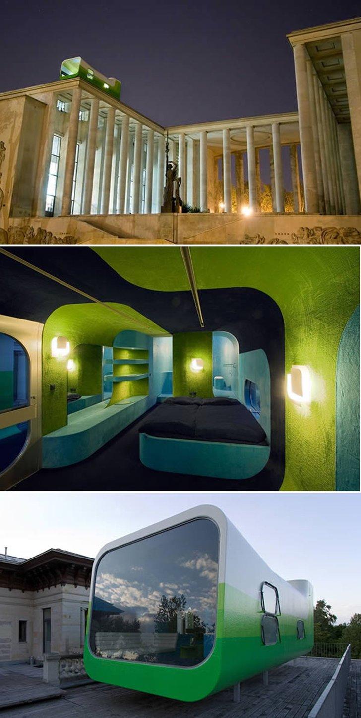 Необычные однокомнатные отели, в которых отдыхается по-царски