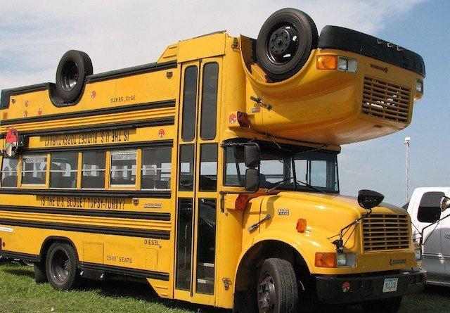 Абсурдные и потрясающе выглядящие транспортные средства