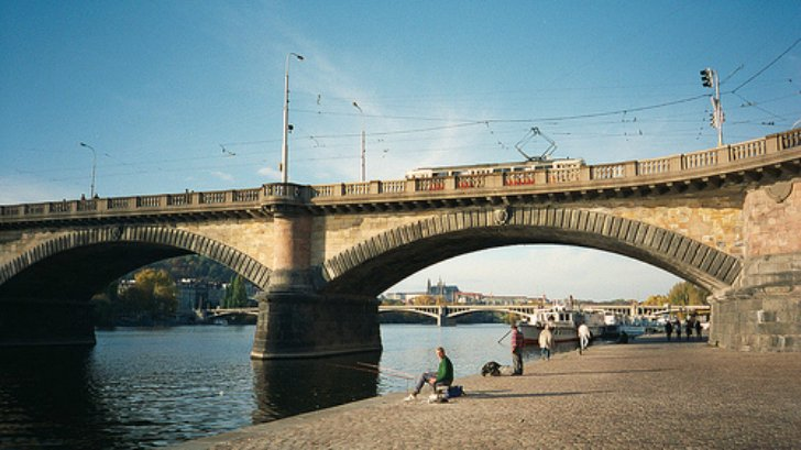 Чарующие мосты Праги
