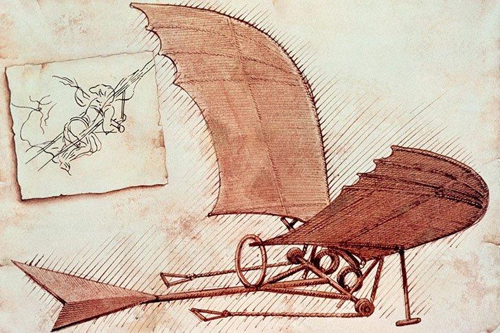 Коллекция революционных идей Леонардо да Винчи