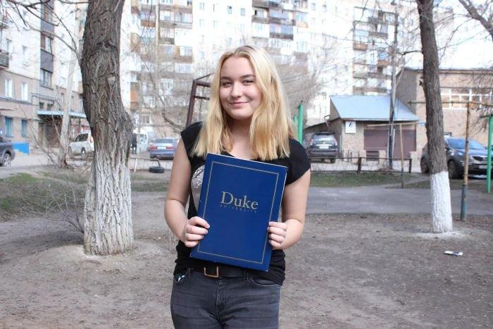 Школьница из Караганды поступила в Университет Дьюка и получила стипендию Билла Гейтса (4 фото)