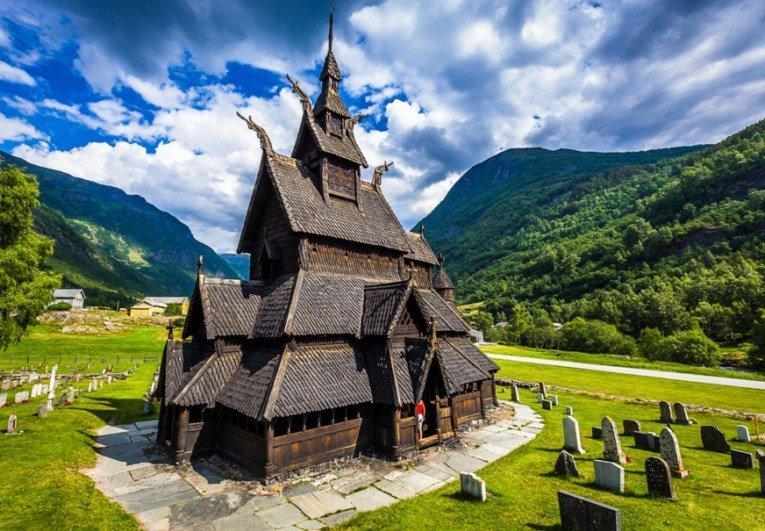 Необычные достопримечательности в Норвегии