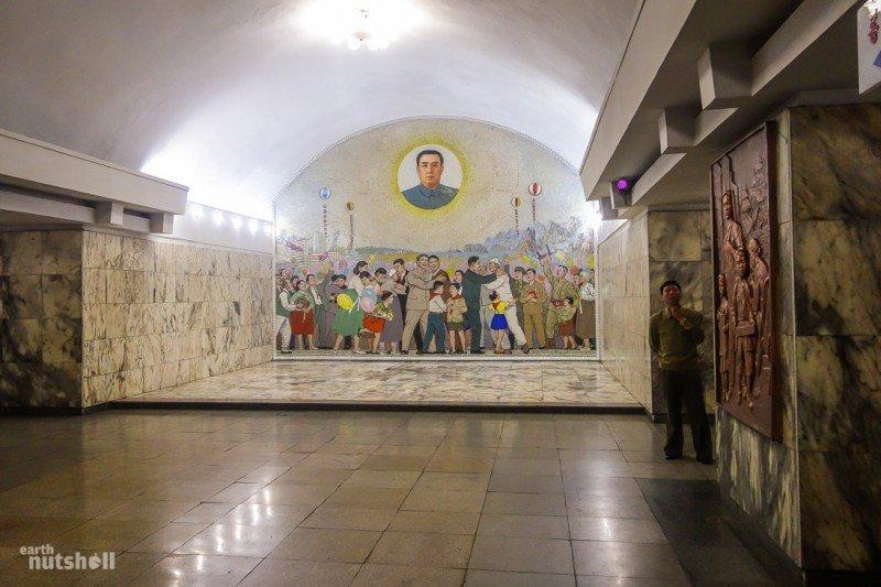 Пхеньянская подземка глазами иностранца