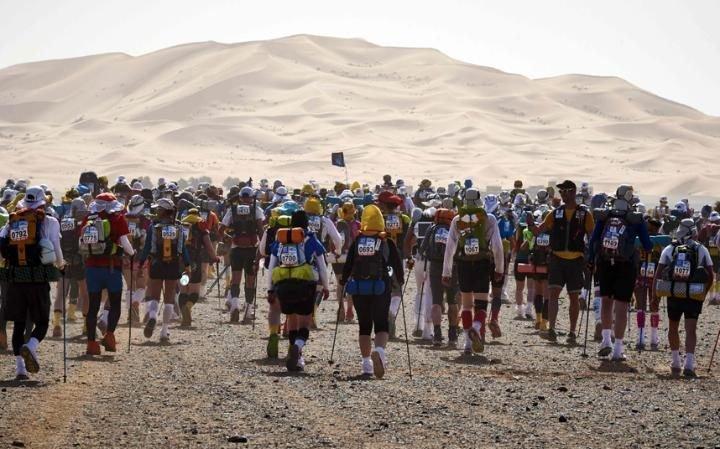 Гонка на выносливость: марафон Marathon des Sables в пустыне Сахара