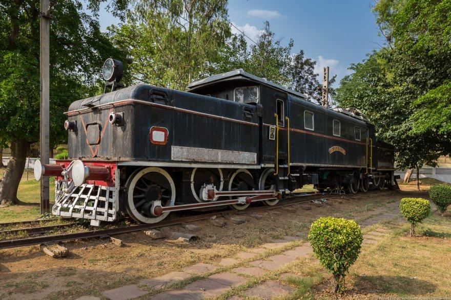 Железнодорожный музей в Дели