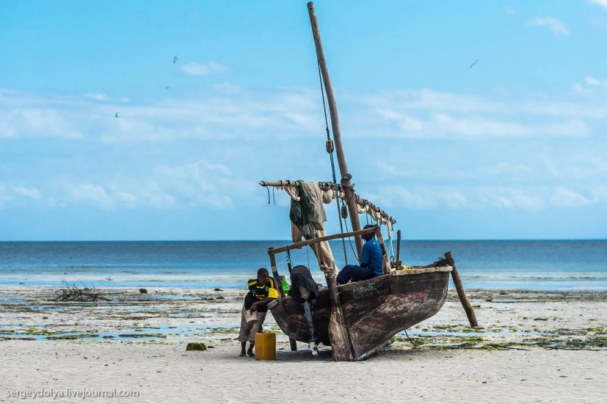 Рыбаки на Занзибаре
