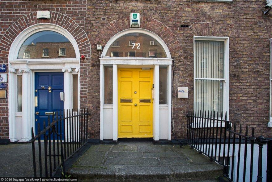 Дублин от 1 до 100 дверей