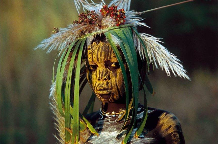 Мода африканских племен