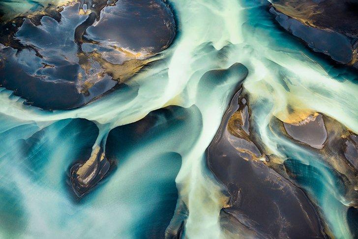 Необыкновенные снимки тающей надежды на восстановление экологии