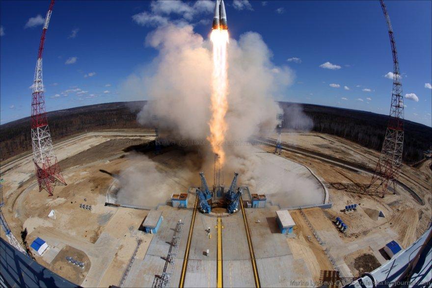 Первая ракета стартовала с космодрома Восточный