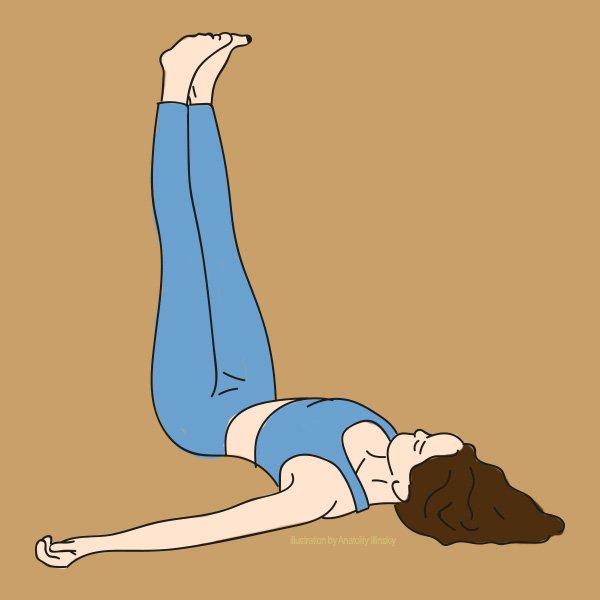 10 поз йоги для занятий в домашних условиях