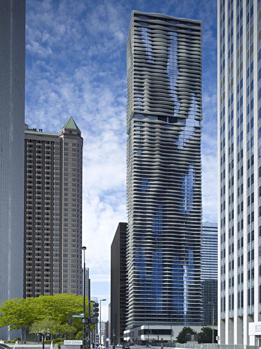 Высотка Аква в Чикаго