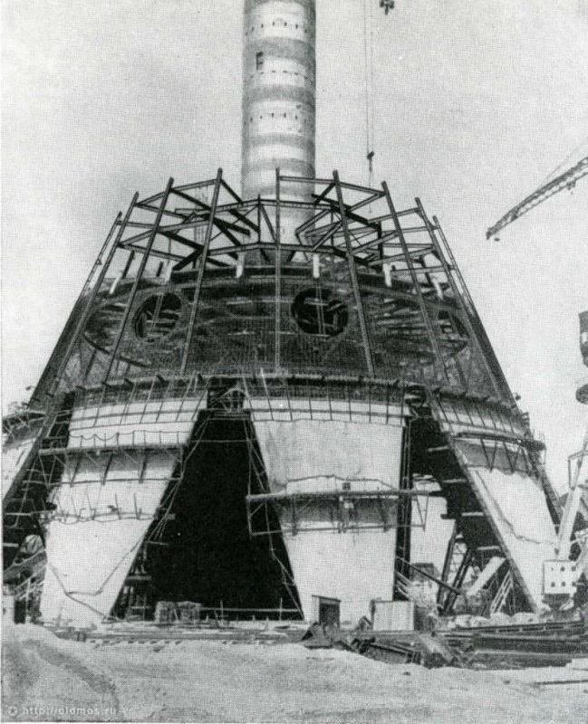 Cтроительство Останкинской башни