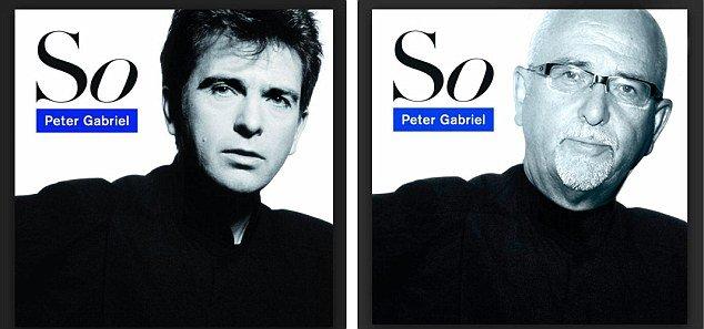 Как выглядели бы всемирно известные музыканты на обложках старых альбомов