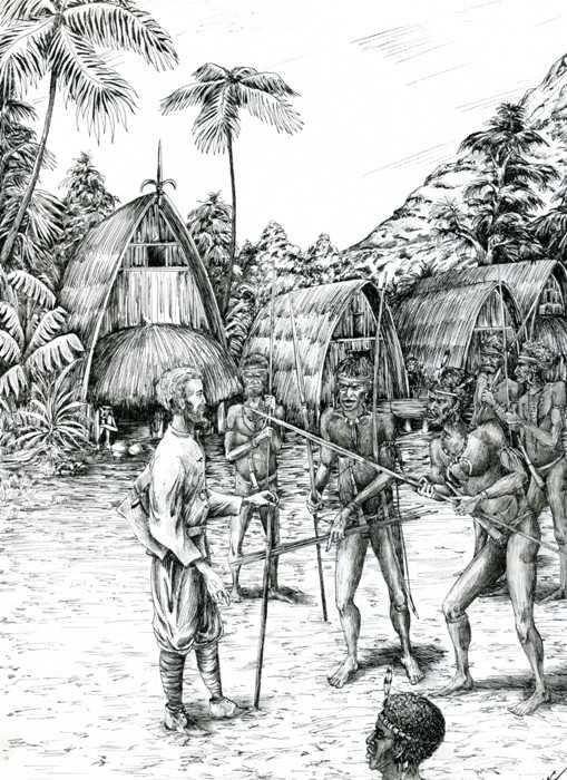 Как жилось этнографу Миклухо-Маклаю с дикими аборигенами