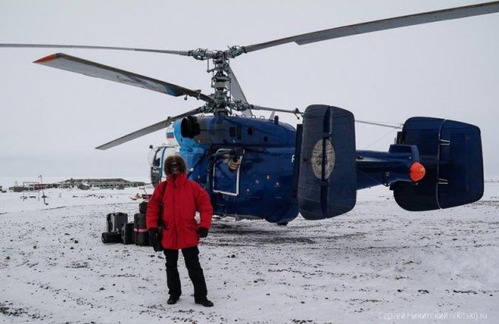 Уникальный военный объект в Арктике