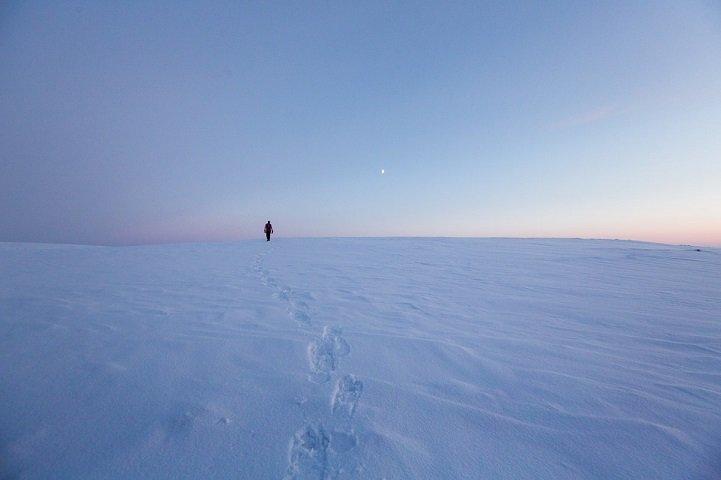 Отшельница, которая живет вдали от цивилизации на севере Финляндии