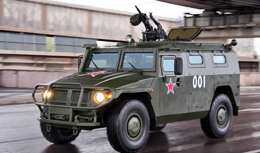 Опасные бронемашины российской армии