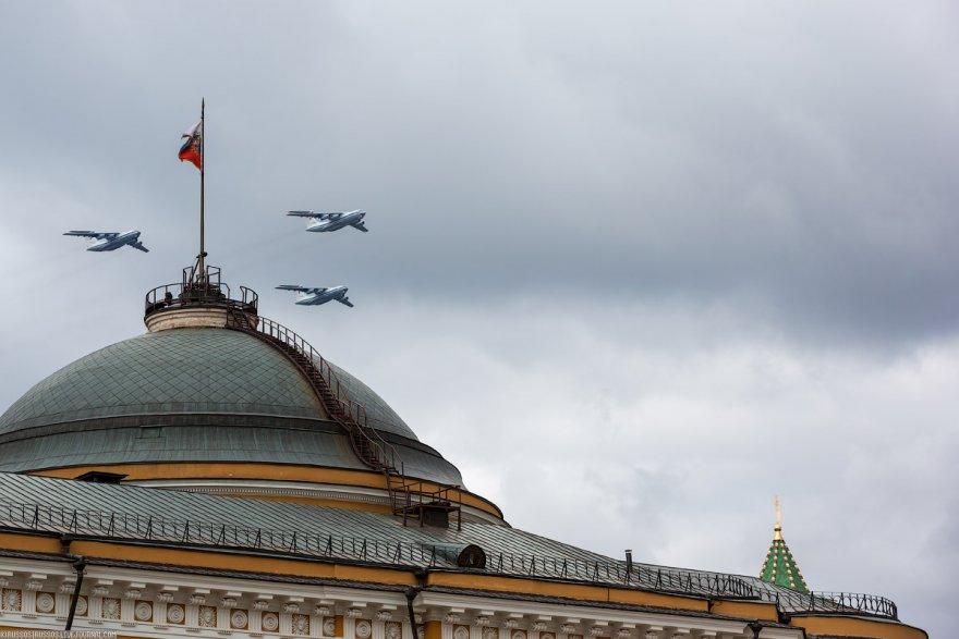 Фотоотчет о репетиции авиапарада на 9 мая
