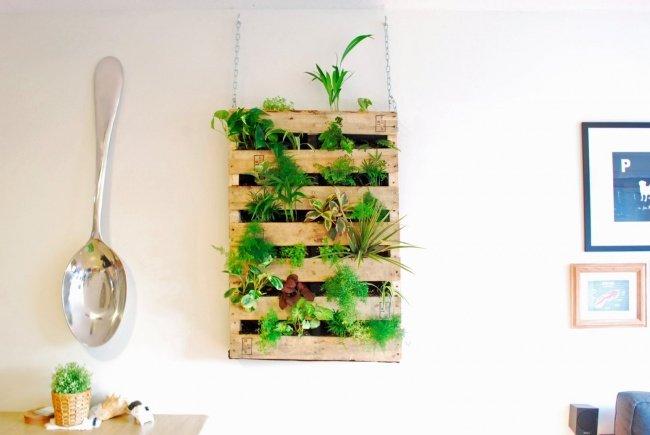 Идеи по оформлению стен