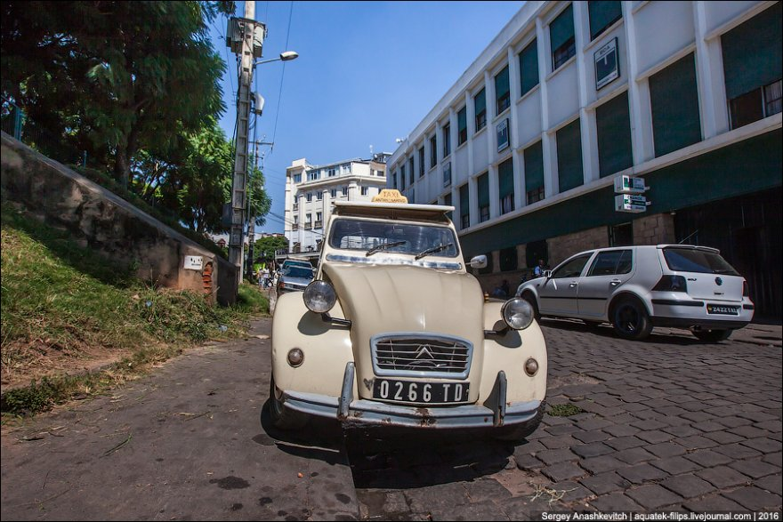 Gett Taxi по-мадагаскарски