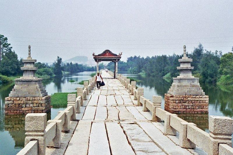 Мост Анпинг в Китае
