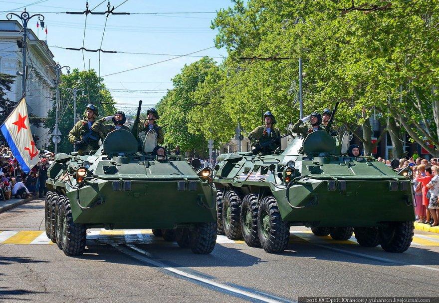 Празднование Дня Победы в Севастополе