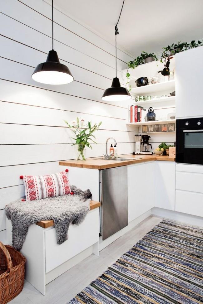 Супер идеи для маленькой кухни