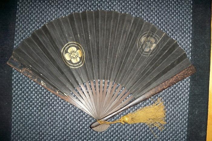 Грозное оружие японских воинов – боевой веер