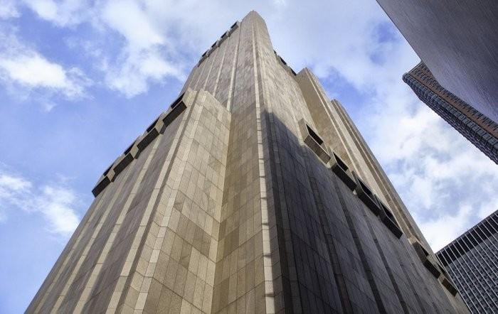 152-метровый небоскреб без окон