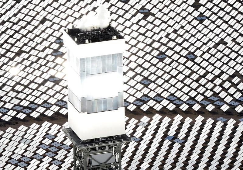 Крупнейшая в мире солнечная электростанция