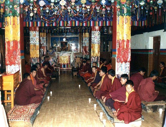 Необычный буддийский храм Ки Гомпа (Key Gompa), Индия