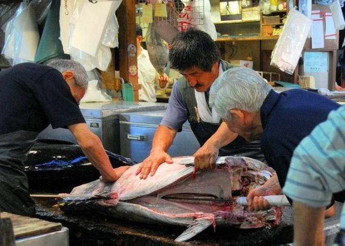 Самый большой рыбный рынок
