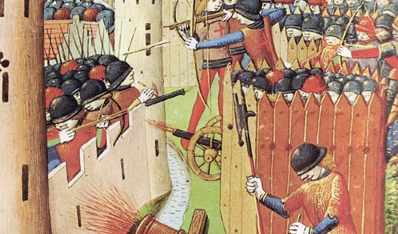 Загадки средневекового оружия