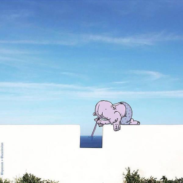 Креативные работы Лукаса Левитана (40 фото)