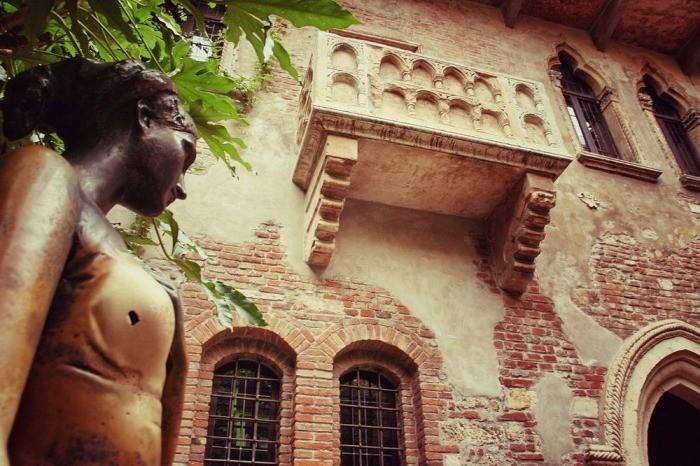 Cамое романтическое место в Вероне – дом Джульетты