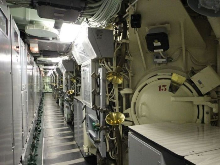 Атомная подводная лодка «Редутабль», ставшая музеем (36 фото)